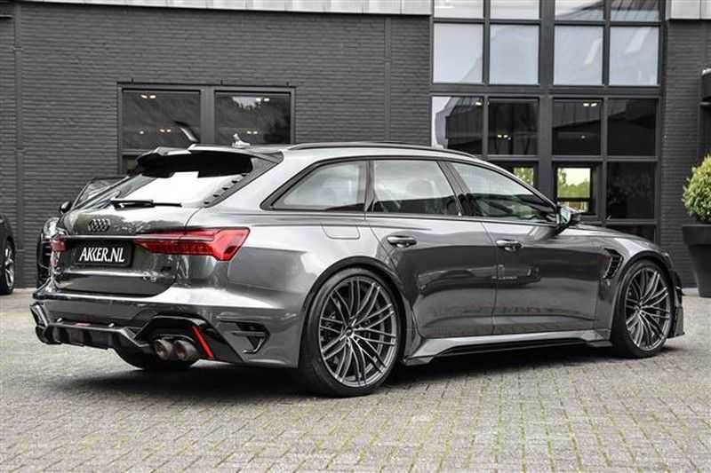 Audi RS6 RS6R ABT LIMITED 1/125 (740 PK / 920 NM) NP.305K afbeelding 24