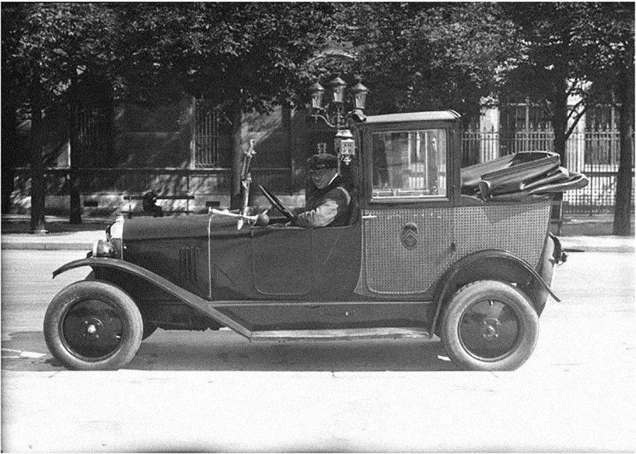 Водитель такси вПариже, 1927год. Фотограф Séeberger. Источник: culture.gouv.fr