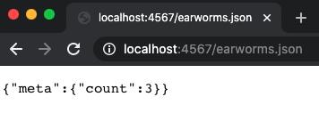 Earworms - Meta Count