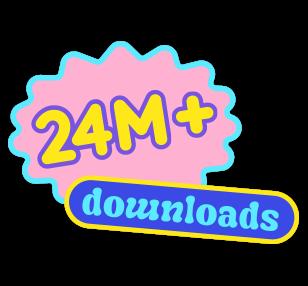 11 million downloads