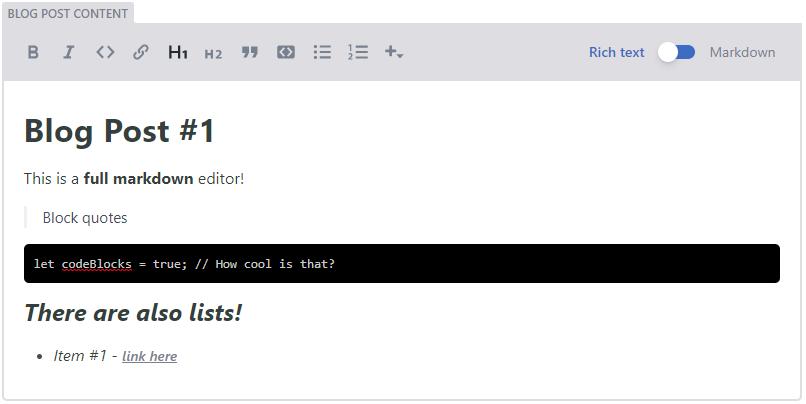 Widgets | Netlify CMS | Open-Source Content Management System
