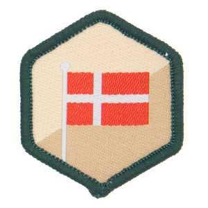 Flaget spejdermærke
