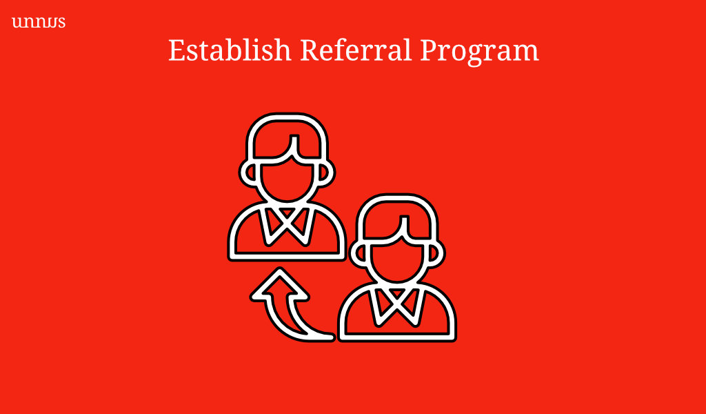 Illustration of referral strategy for medical practice