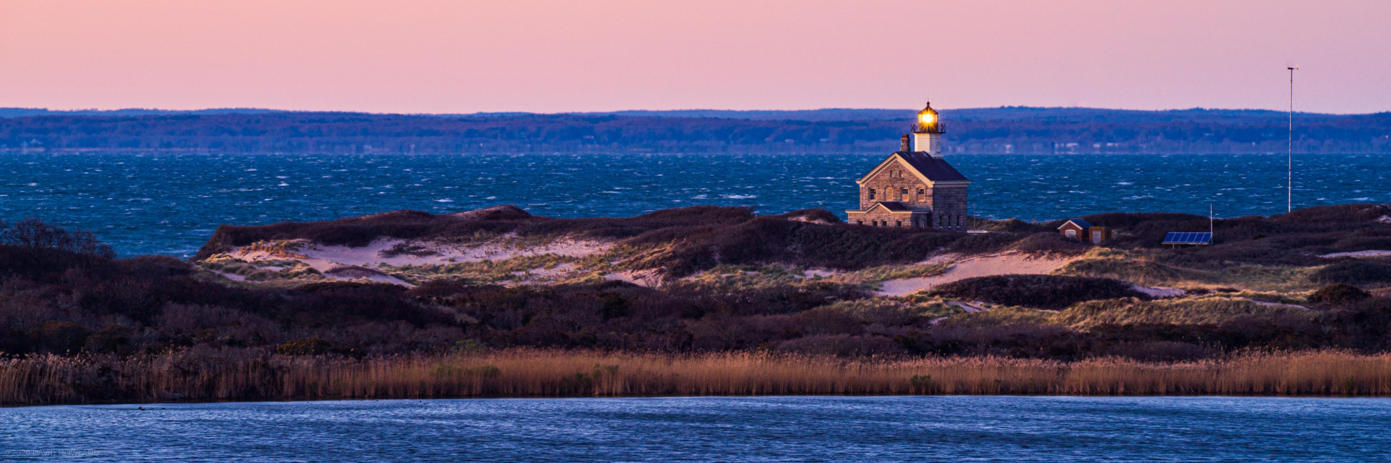 Block Island North Light Sunset
