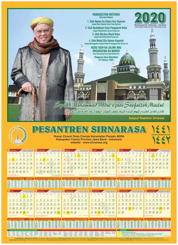 Kalender Pesantren Sirnarasa
