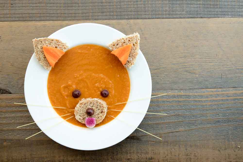 Vegan Red Panda Carrot Miso Soup