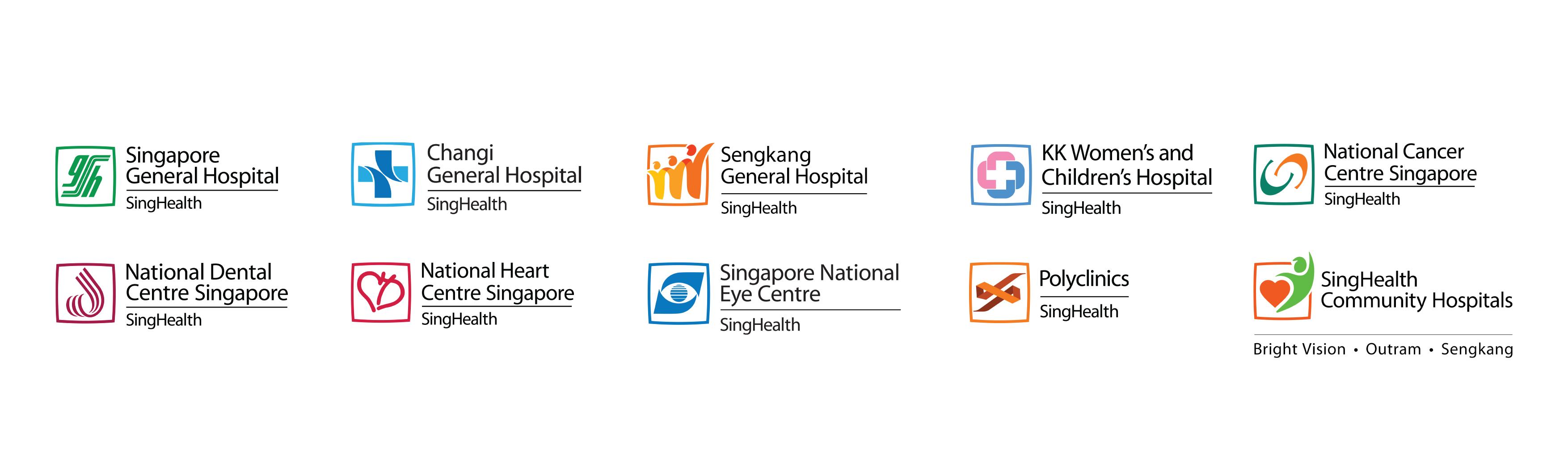 SingHealth Logos