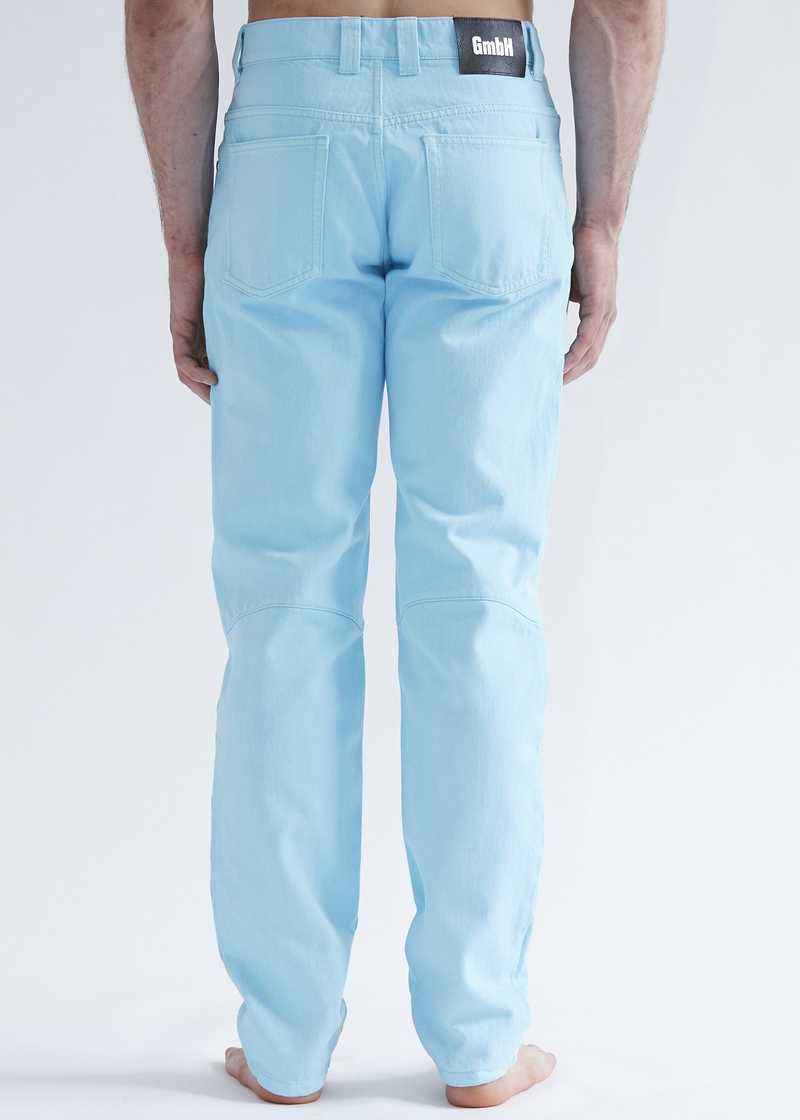 Darveesh jeans light blue for men. GmbH SS20 collection.