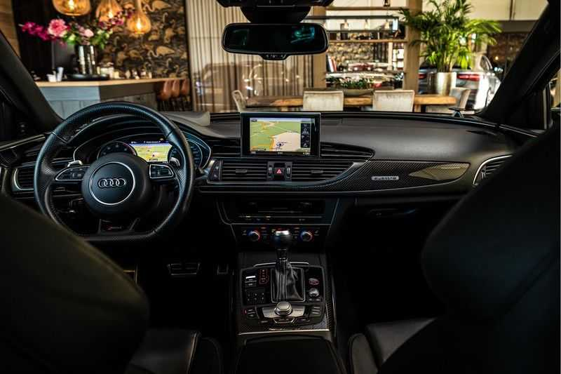 Audi RS6 Avant 4.0 TFSI quattro Performance   Ceramic   B&O   Head-up Display   Panorama   Milltek uitlaatsysteem afbeelding 14