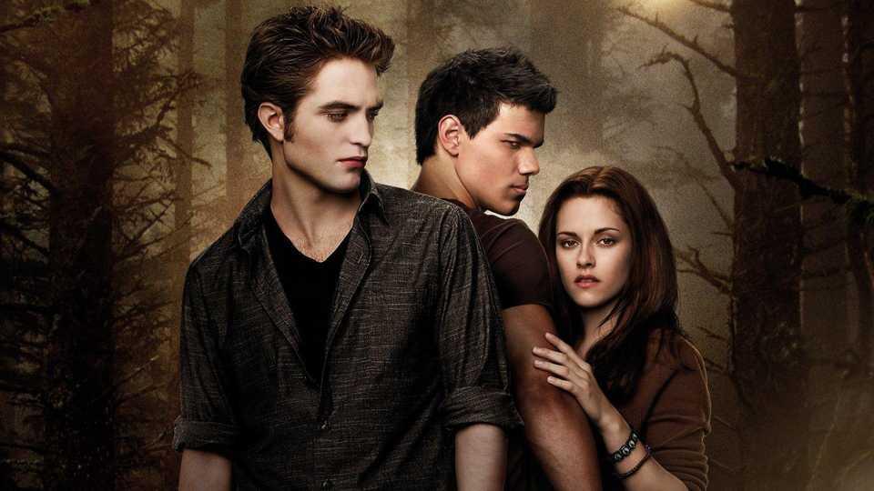 Pattinson, Stewart and Lautner in The Twilight Saga: New Moon