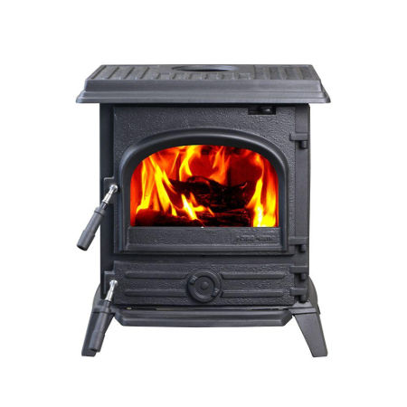 HiFlame 1,200 square foot wood stove from HomeDepot.