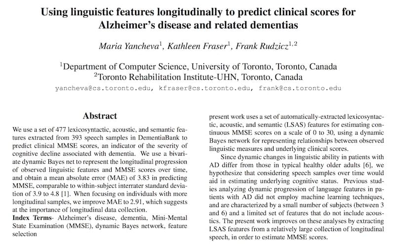 Using Linguistic Features Longitudinally to Predict Clinical Scores for Alzheimer's Disease and Related Dementias