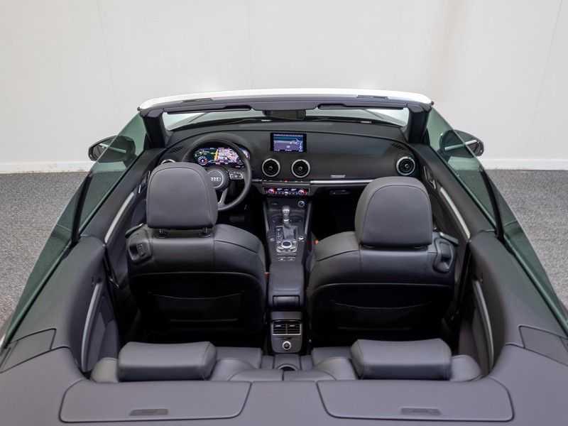 Audi A3 Cabriolet 35 TFSI CoD Sport | 150 pk | Automaat | Virtual Cockpit | Camera | Adaptieve Cruise | DAB | Leder Milano | Keyless-Entry | afbeelding 12