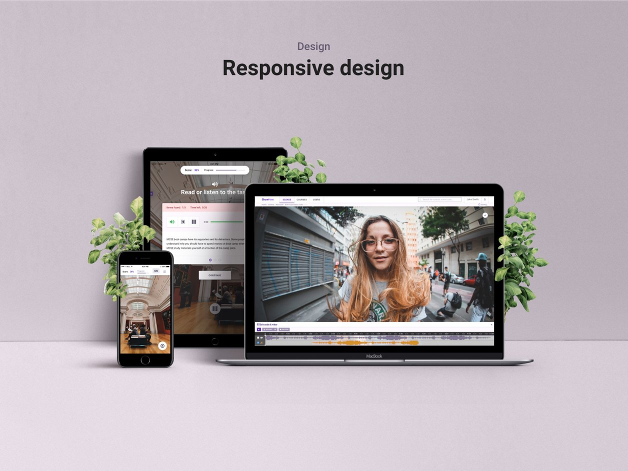 High Fidelity Prototype - UI Design | ShowHow