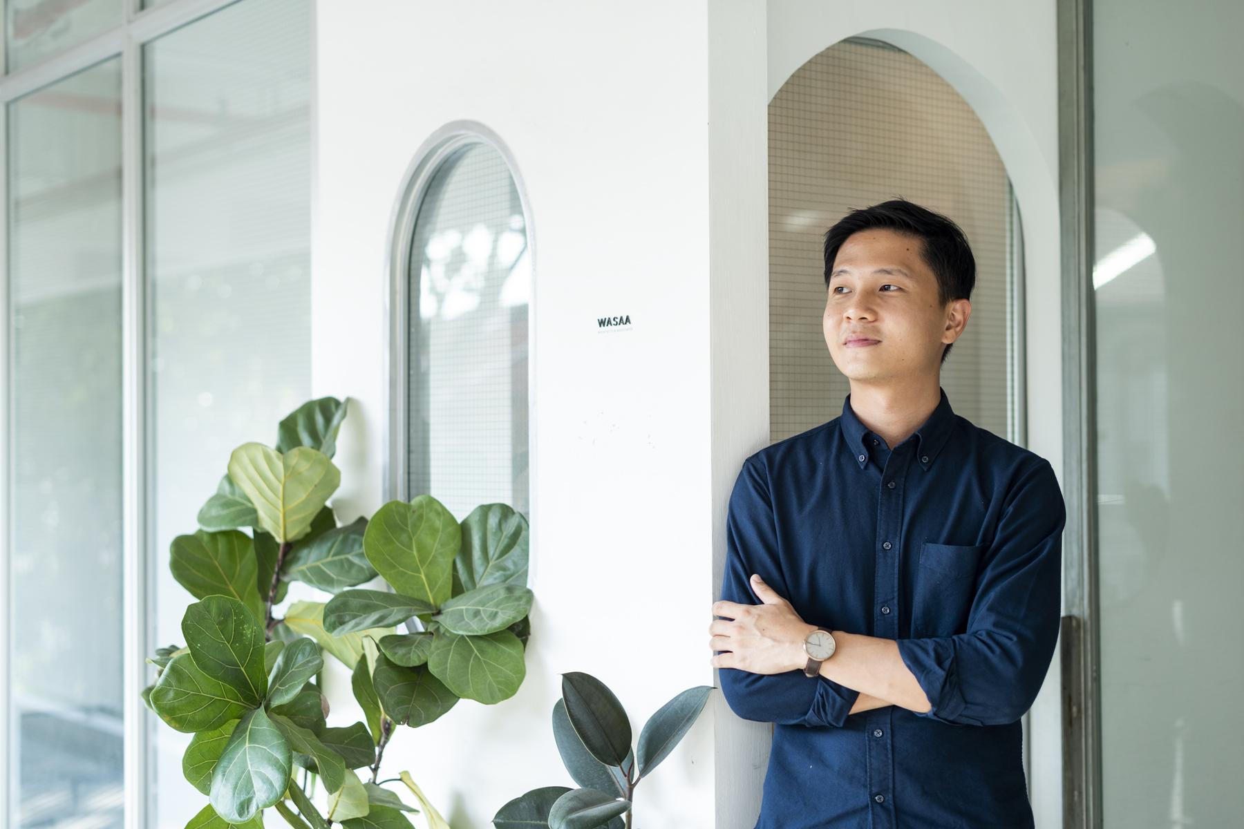 Architect Wu Huei Siang at his WASAA office