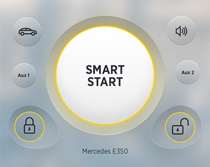 Directed smart start screen