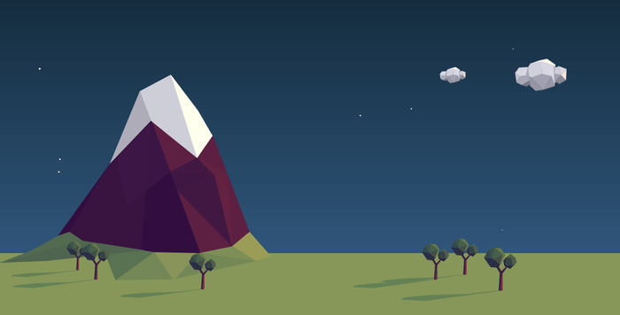 SVG Landscape Animation