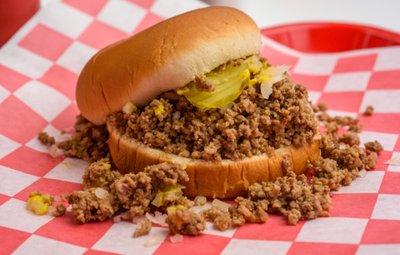 Crumbly Burger