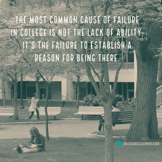 main causes of failure in college