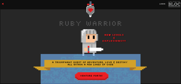 Ruby Warrior