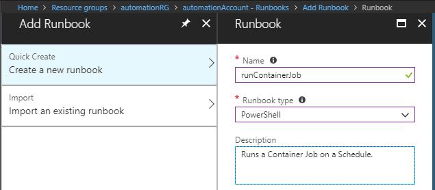 Runbook initial