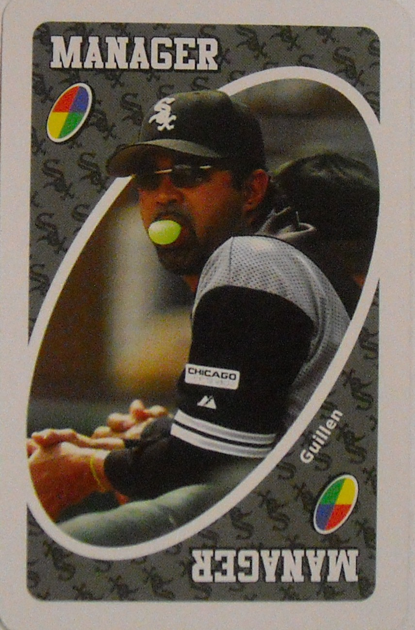 Chicago White Sox Uno (Manager Card)