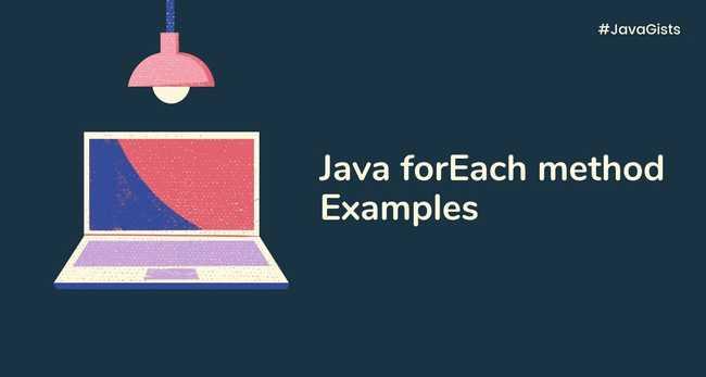 Java forEach method examples