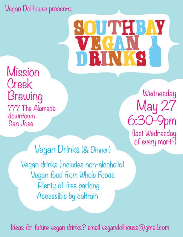 South Bay Vegan Drinks May 2015