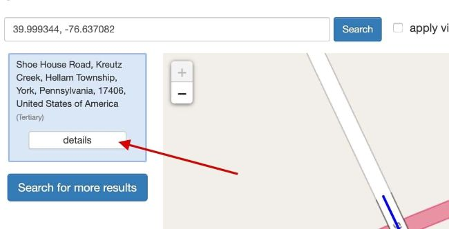 Step 2: reverse geocode latitude & longitude to address