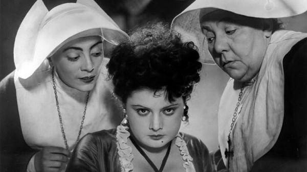 Кадр из фильма Михаила Ромма «Пышка» (1934)
