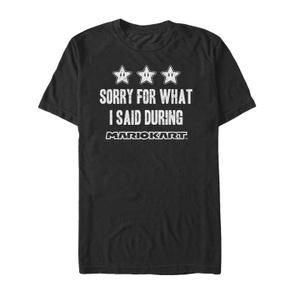Mario Sorry - T Shirt