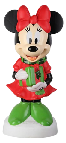 Minnie Mouse with Gift photo