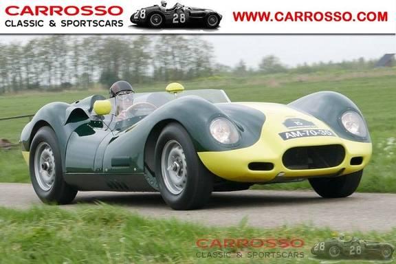 Jaguar Lister Knobbly Evocation RHD