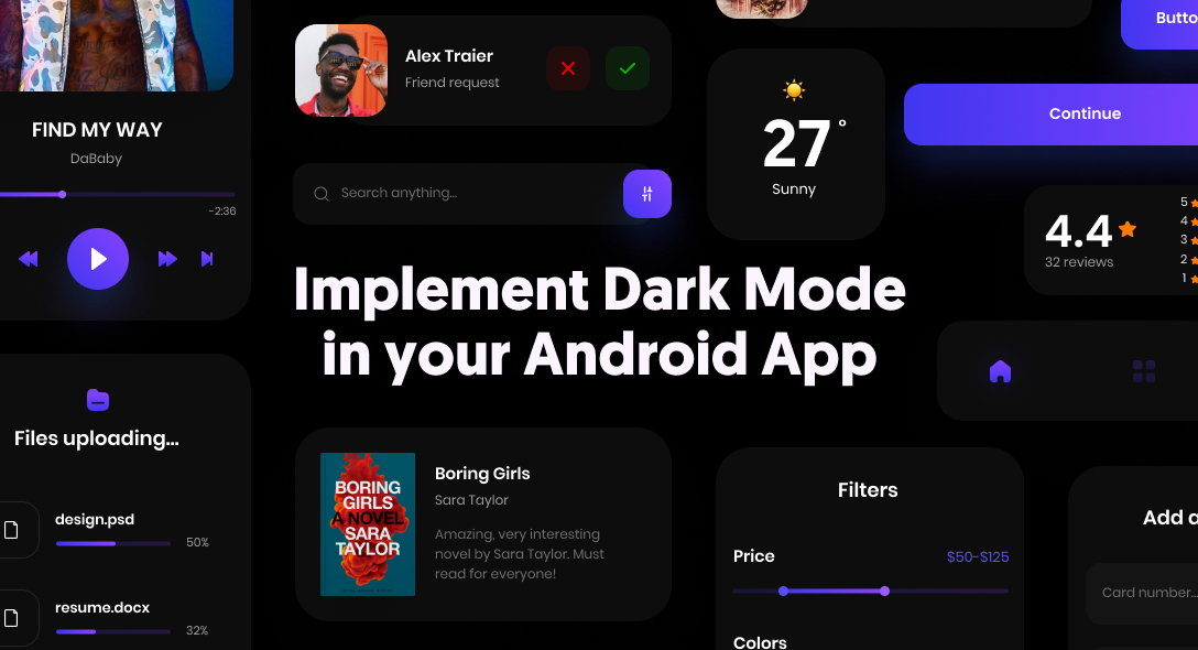 Implement Dark Mode in Your Android App
