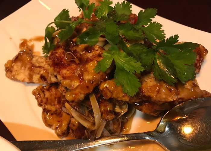 Fried Chicken in Restaurant in Pere Garau