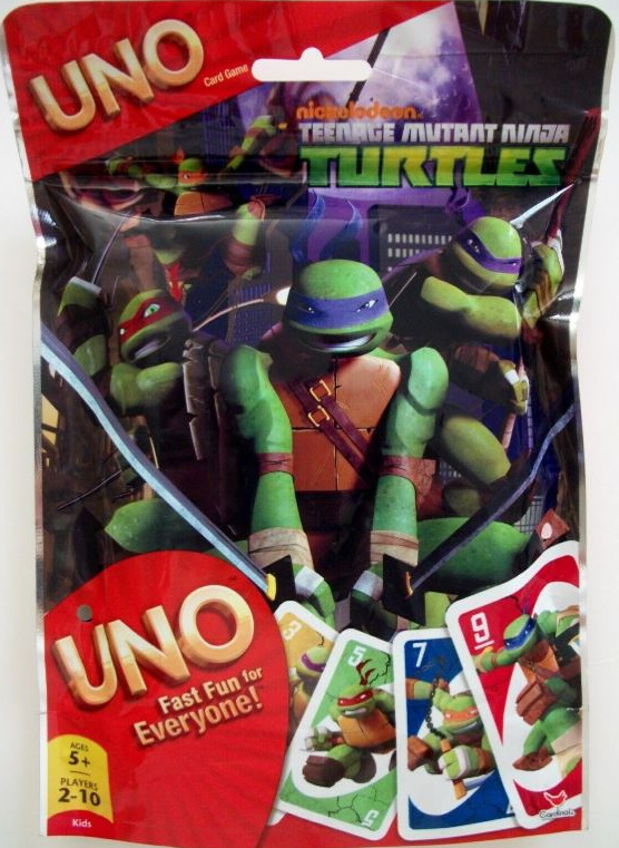 Teenage Mutant Ninja Turtles Uno (Pizza) (2013)