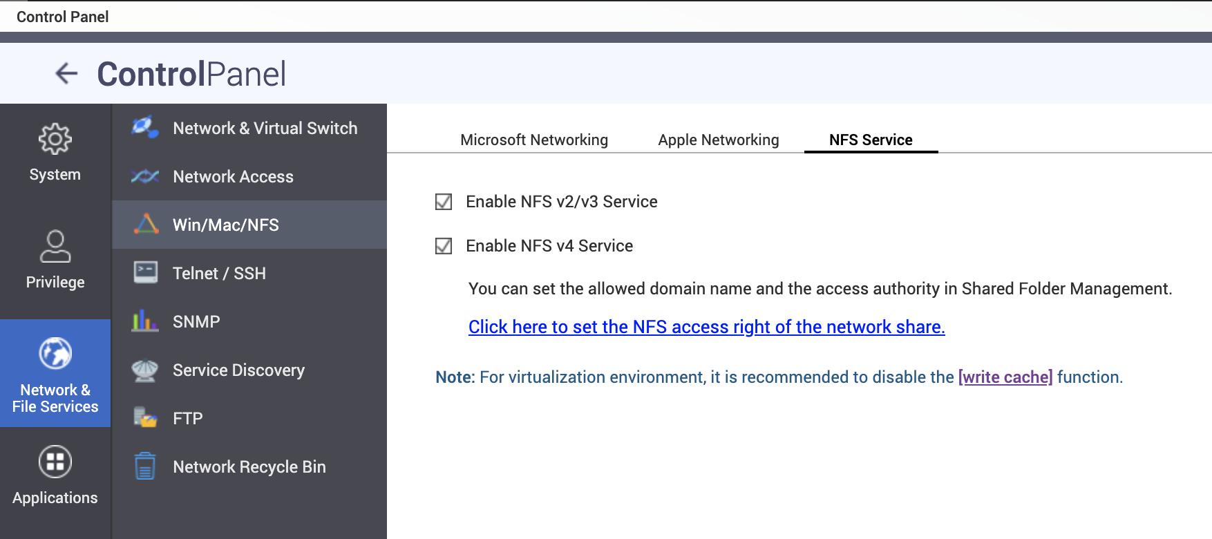 NFS Service
