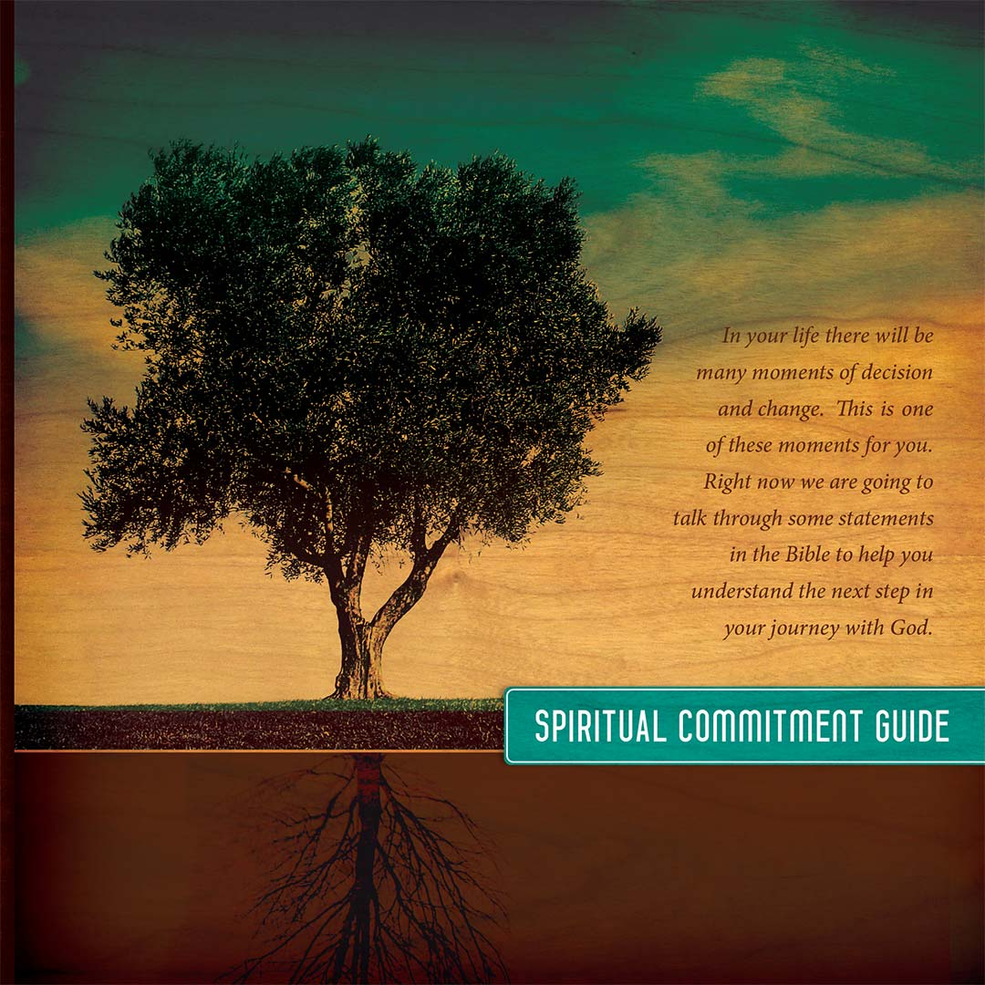 The cover of the old Spiritual Commitment Guide