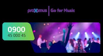 Proximus gebruikt een 0900-nummer.