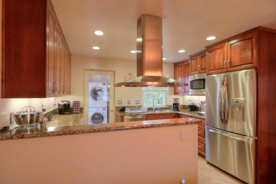 image of custom kitchen remodel in Point Loma
