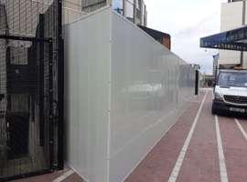 Construction Site Reusable UPVC Hoarding