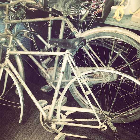 Vecchie bici che tornano a vivere...