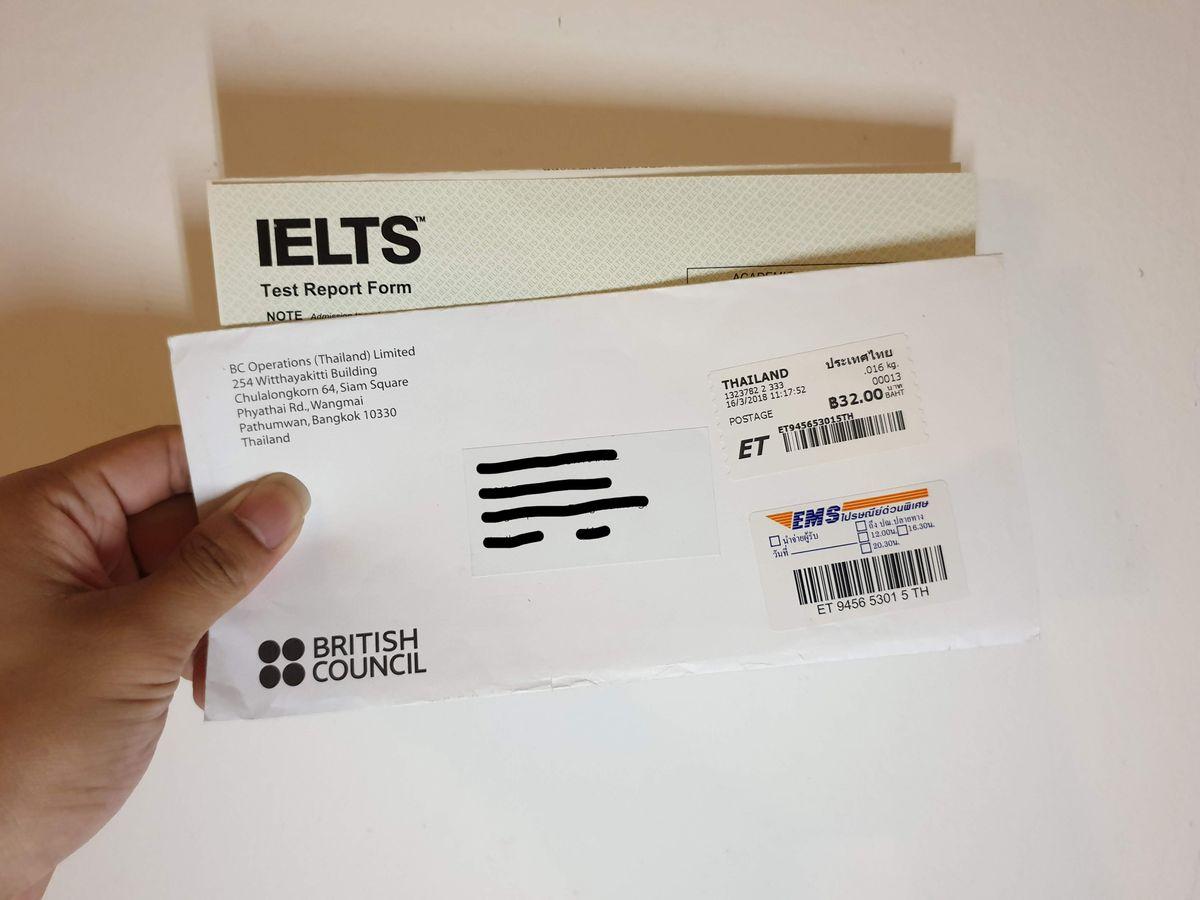 รีวิวการสอบ IETLS ที่เกือบลืมว่ามีสอบ