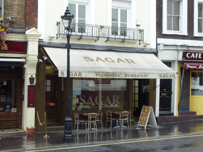 Sagar Vegetarian Indian restaurant