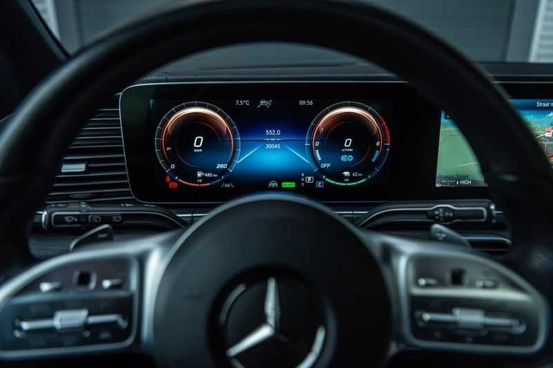 Mercedes-Benz GLE 350 de 4MATIC Premium Plus, 320 PK, AMG/In/Exterieur, Pano/Dak, Massage, Standkachel, Head/Up, BTW, 2020! afbeelding 15