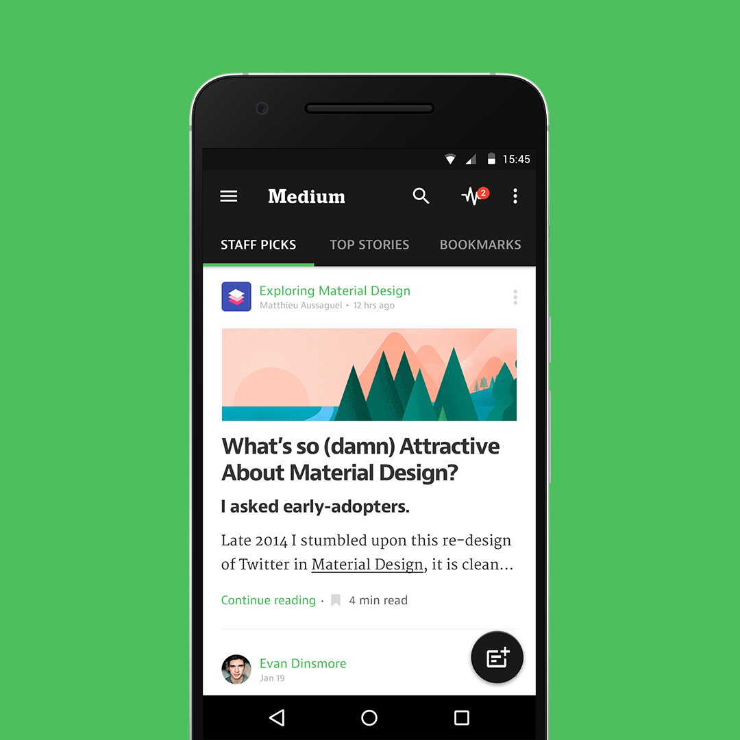 Medium for Android