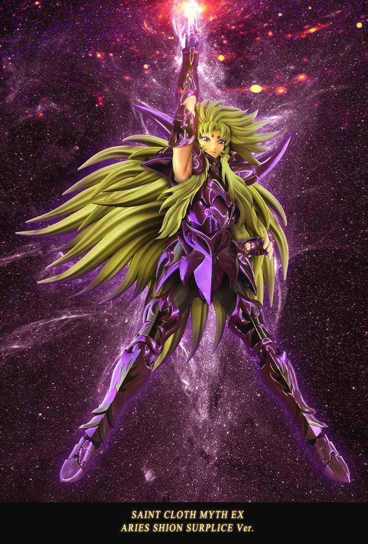BANDAI Saint Seiya Cloth Myth EX Aries Shion Surplice Knights of the Zodiac
