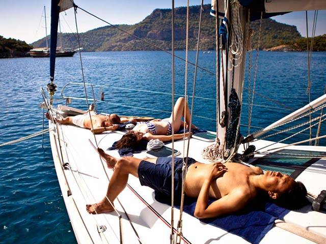 Relax, Enjoy and Stay Healthy on Your Sailing Turkey Trip