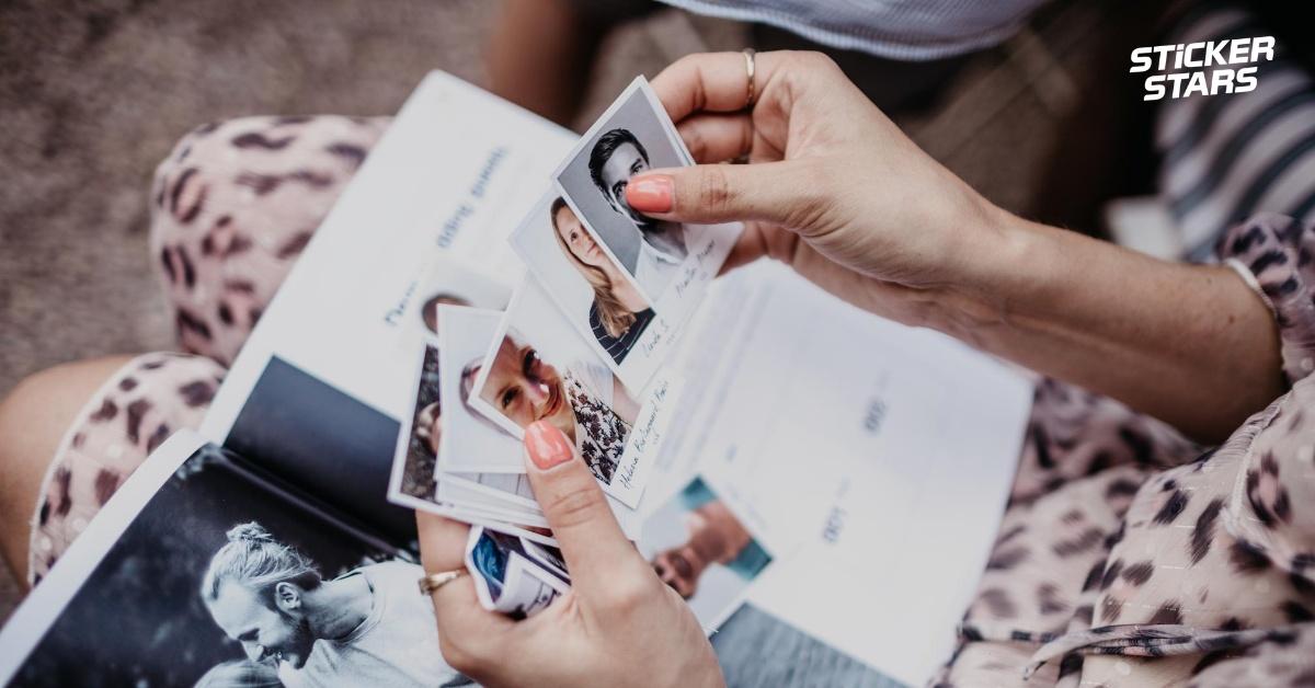 Stickerstars Sammelalbum Hochzeit Gastgeschenk
