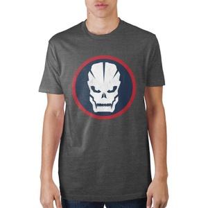 Call of Duty Circular Skull Charcoal T-shirt